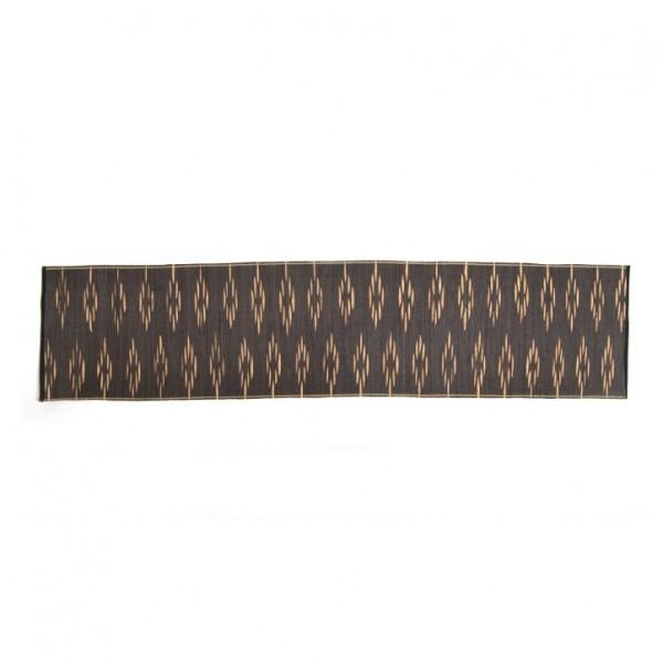 Tischläufer, schwarz/gold, L 150 cm, B 35 cm