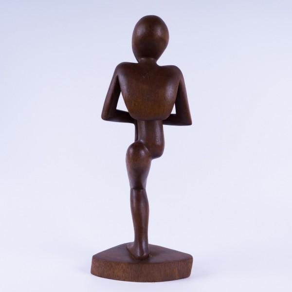 """Abstrakt """"Auf einem Bein"""", natur, H 41 cm"""