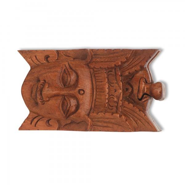 Secret Box 'Rama', natur, T 9 cm, B 15 cm, H 7 cm