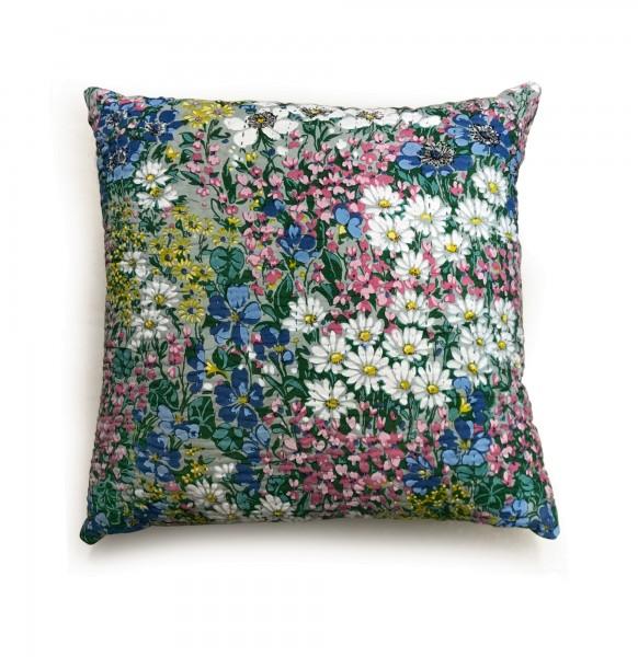 Kissen 'Flowers Meadow', multicolor, T 45 cm, B 45 cm