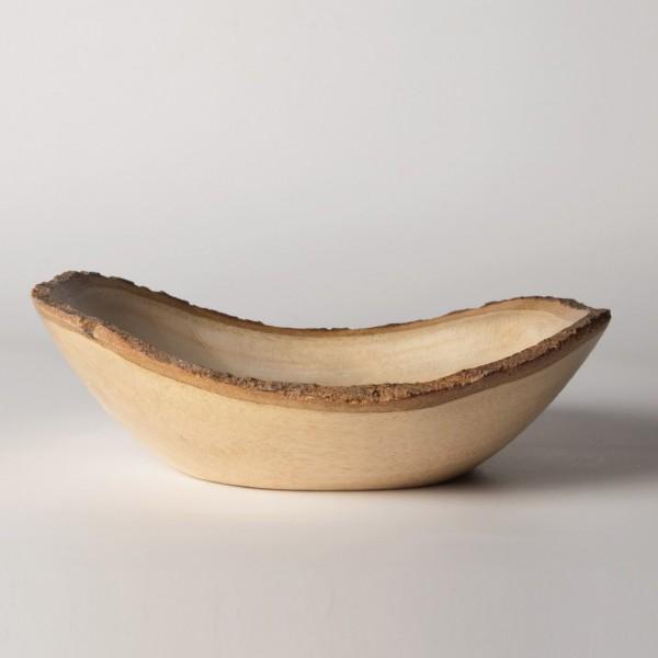 Schale mit Rinde, natur, Ø 23 cm, H 8 cm