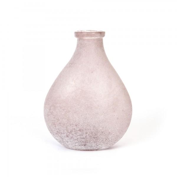 Glasvase gefrostet, Ø 21 cm, H 28 cm