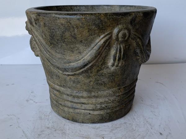 Pflanztopf 'Cortina', braun, Ø 40 cm, H 36 cm