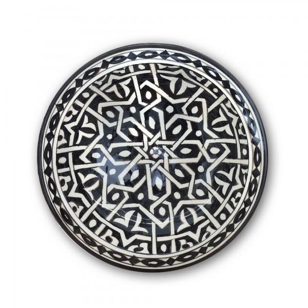 Zierkeramikteller 'Nejma', Ø 28 cm, H 6,5 cm