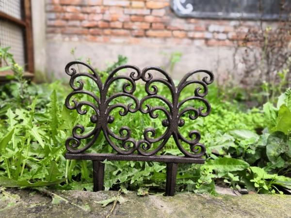 Beetabgrenzer 'Fontäne', antik-braun, B 24,5 cm, H 30 cm