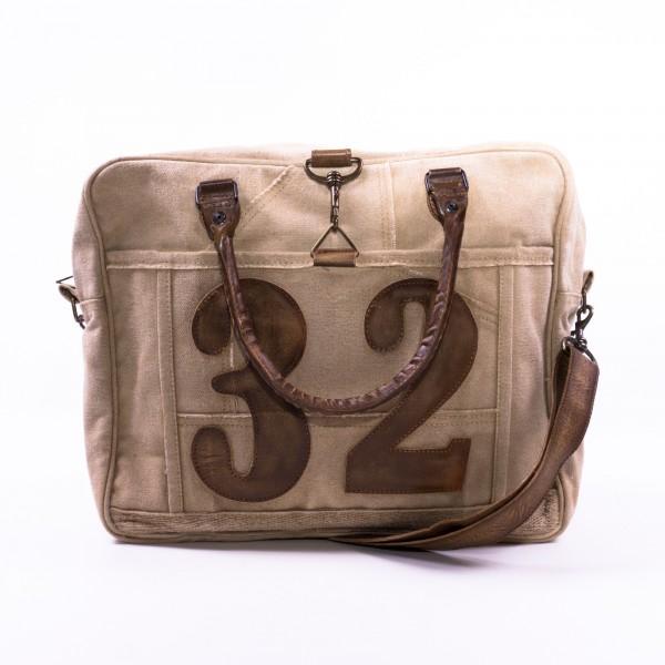"""Umhängetasche """"32"""", beige, B 38 cm, H 32 cm"""