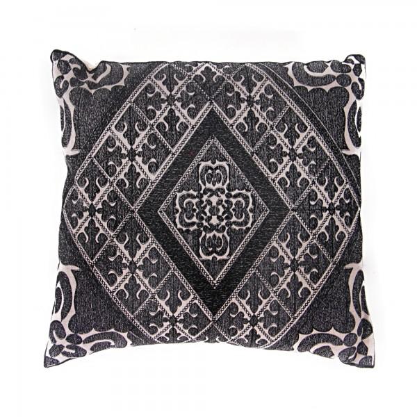 Kissen Swati, schwarz/weiß, L 40 cm, b 40 cm