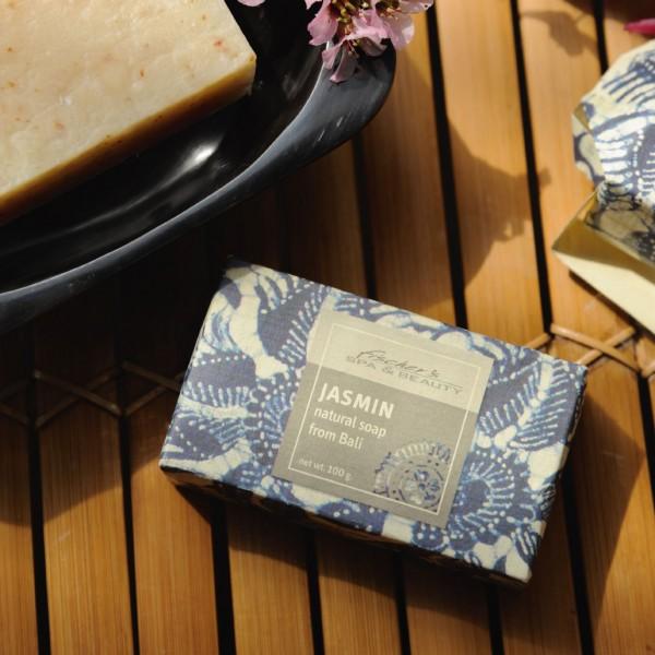 Naturseife 'Jasmin', 100 g, aus 100% natürlichen Inhaltsstoffen