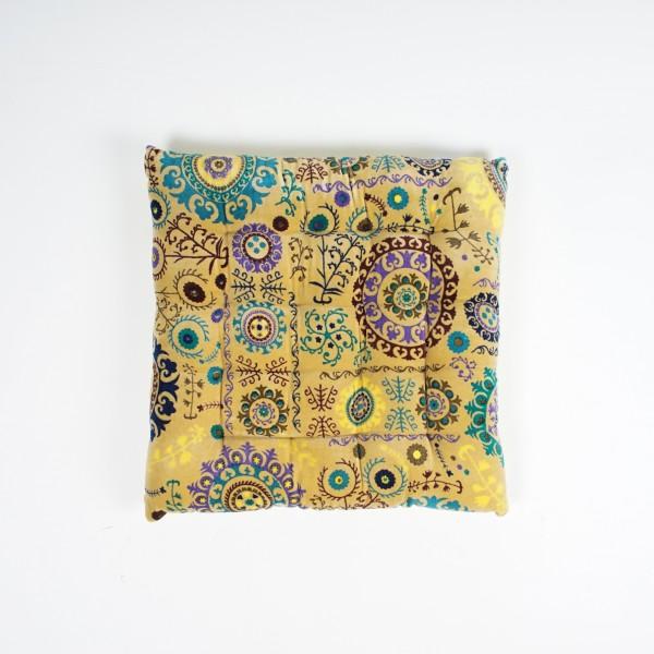 "Sitzkissen ""Safari"", multicolor, L 40 cm, B 40 cm"