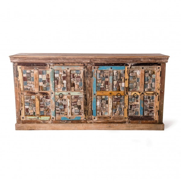 "Sideboard ""Jolipur"", aus Mangoholz, L 42 cm, B 191 cm, H 94 cm"