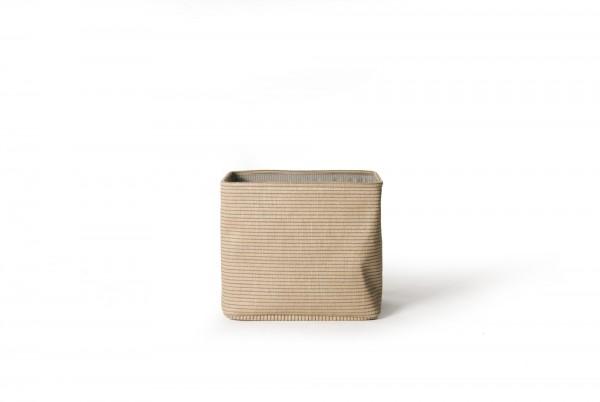 Korb 'Leper' XL, beige, T 30 cm, B 40 cm, H 35 cm