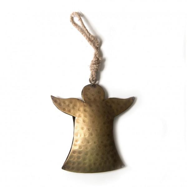 """Baumanhänger """"Engel"""" aus Metall L, gold, H 20 cm"""