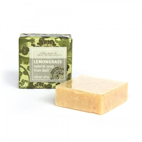 Naturseife 'Zitronengras', 40 g, aus 100% natürlichen Inhaltsstoffen