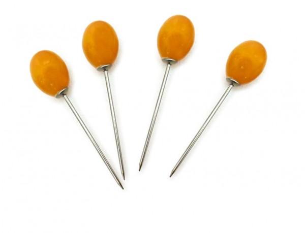 Pieker 'Becco', orange, T 8,5 cm, B 2 cm, H 2 cm