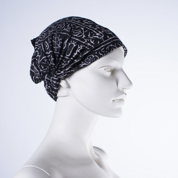 """Haarband """"Baltimore"""", aus 100% Baumwolle, schwarz"""