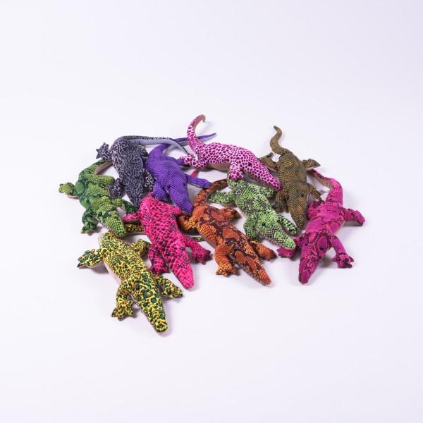 Sandtier 'Krokodil' L, multicolor, L 35 cm