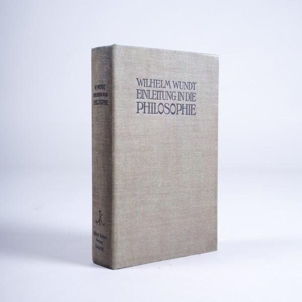 """Buch-Tresor """"Einleitung in die Philosophie"""", L 5 cm, B 16 cm, H 24 cm"""