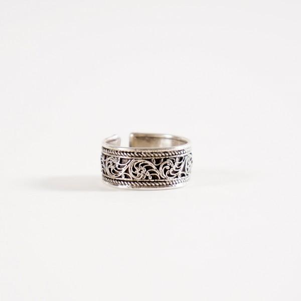 "Silberring ""Paisley"", aus echtem 925er Silber"