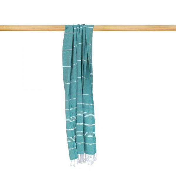 Hamamtuch 'Sulten', blaugrün, T 175 cm, B 95 cm