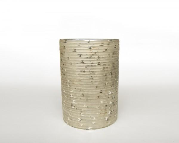 """Teelichthalter """"Votive XL"""", antik-silber, Ø 20 cm, H 28 cm"""