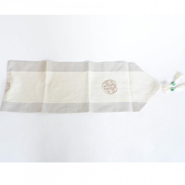Tischläufer, beige, L 200 cm, B 32 cm