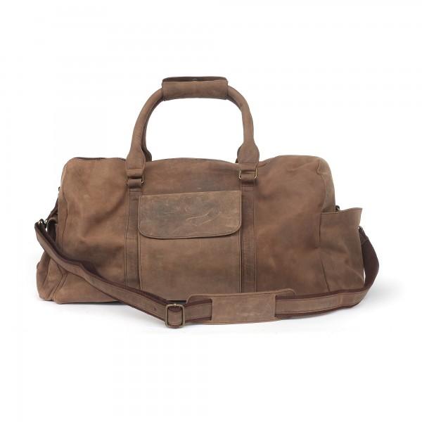 Reisetasche 'Clipton', braun, T 62 cm, B 30 cm, H 18 cm