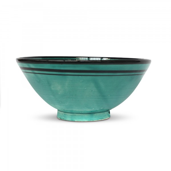 Schale, grün, Ø 28 cm, H 10 cm