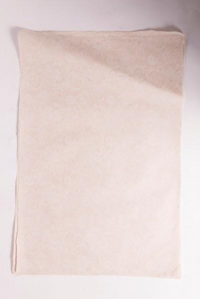 """Geschenkpapier """"Muster"""", handgeschöpft, L 51 cm, B 76 cm"""