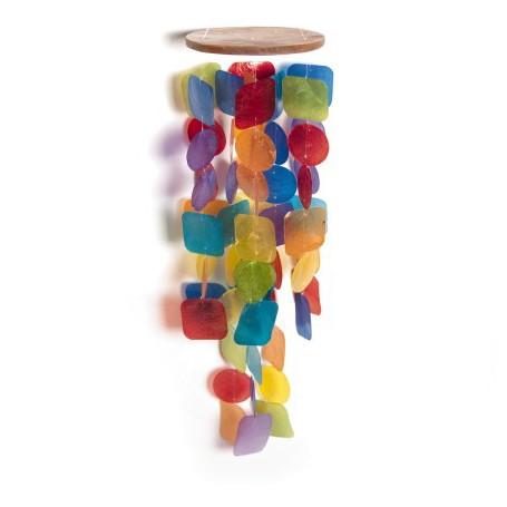 """Windspiel """"Rainbow"""" aus Acrylglas, multicolor, L 65 cm"""