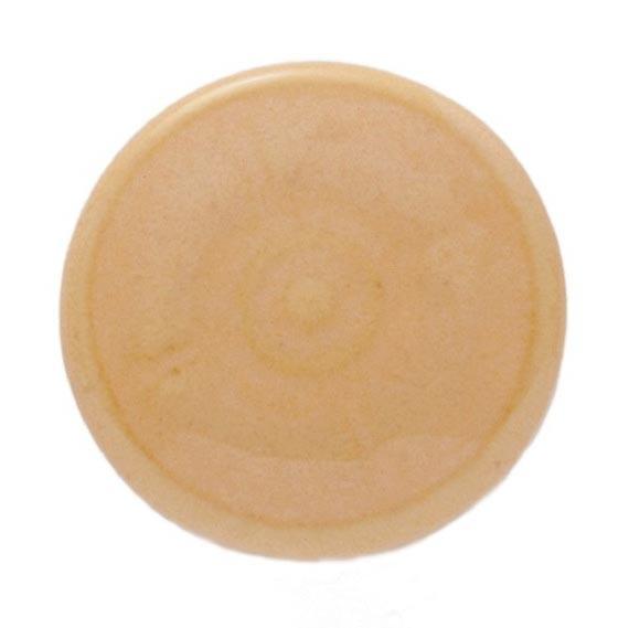 Knopf Ornament rund, beige, Ø 3 cm