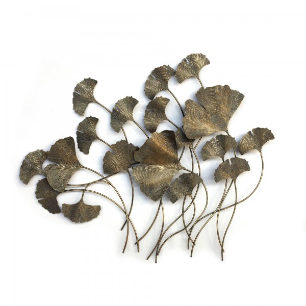 Gingkoblätter 'Gingko', T 4,5 cm, B 107 cm, H 90 cm