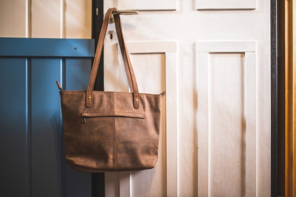 Girls Bag, braun, T 38 cm, B 30 cm, H 9 cm
