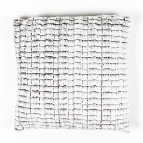 Kissen 'Maschen', weiß, L 50 cm, B 50 cm