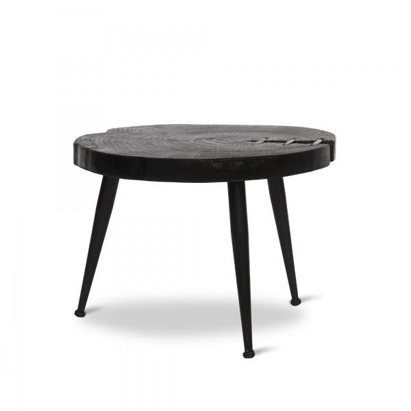 Tisch 'Mason', schwarz, Ø 48 cm, H 35,5 cm