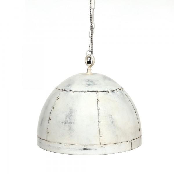 Lampe 'Clap', weiß, Ø 46 cm, H 37 cm