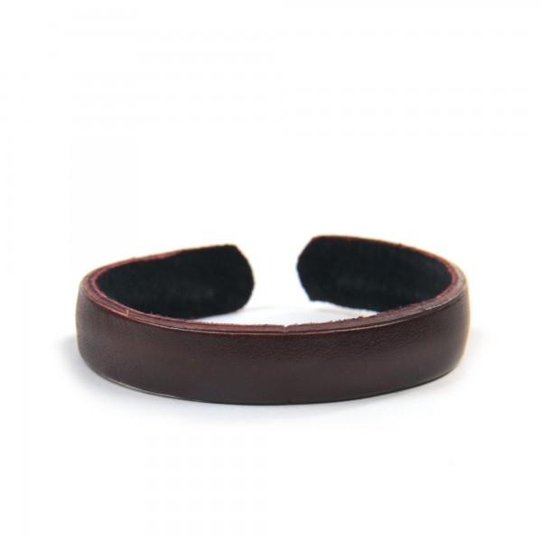 "Armband ""Timothy"", aus Leder, braun"