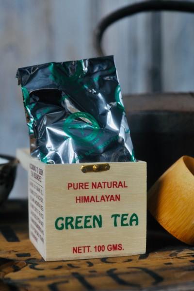Hochlandtee 'New Valley', Organischer grüner Tee, 100 g