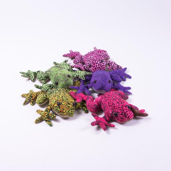 """Sandtier """"Frosch"""", XL, multicolor, L 20 cm"""