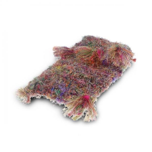 Brustbeutel, multicolor, B 12 cm, H 18 cm