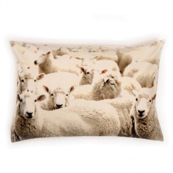 """Kissen """"Sheeps"""" inkl. Füllung, weiß, 60x40 cm"""