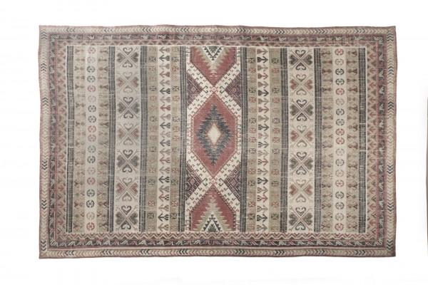 Teppich 'Nikobaren', handbedruckt, L 200 cm, B 140 cm