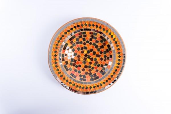 Mosaikteller, multicolor, Ø 29 cm