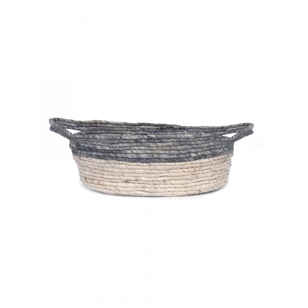 Korb 'Ordina' S, natur, T 29 cm, B 19 cm, H 10 cm