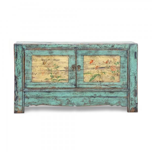 Sideboard 'Odilia', blau, T 47 cm, B 137 cm, H 82 cm