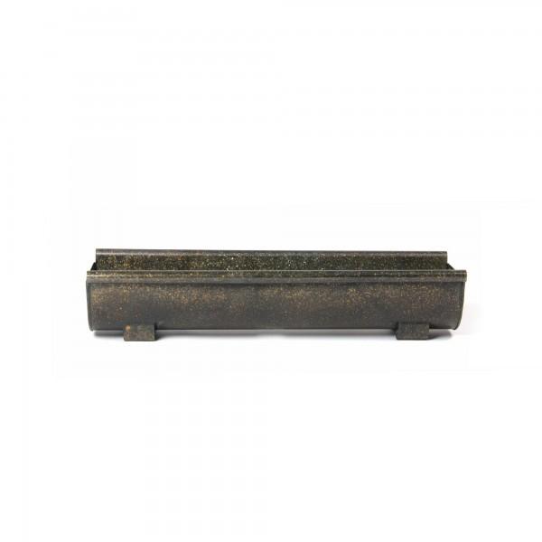 Pflanzkasten, Größe L, aus metall, L 16 cm, B 55 cm, H 10 cm