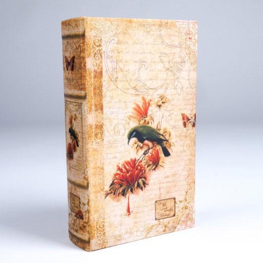 "Buch-Tresor ""Harmony"", L 5 cm, B 13 cm, H 21 cm"