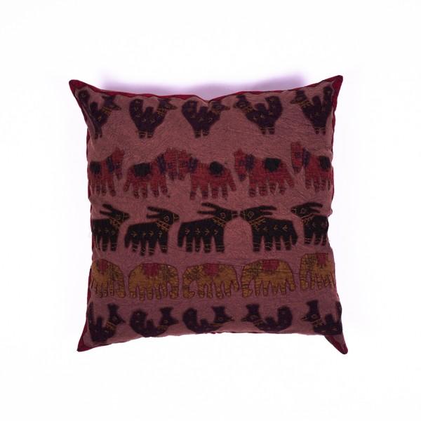 """Kissenhülle """"Elefant"""", multicolor, L 60 cm, B 60 cm"""