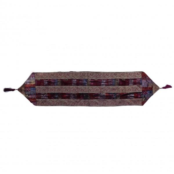 Tischläufer, weinrot, L 35 cm, B 150 cm