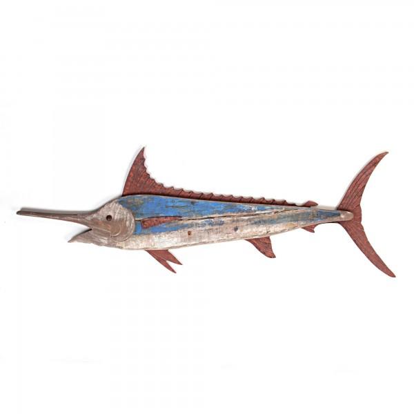 Wandbild Thunfisch, T 2,5 cm, B 99 cm, H 34 cm