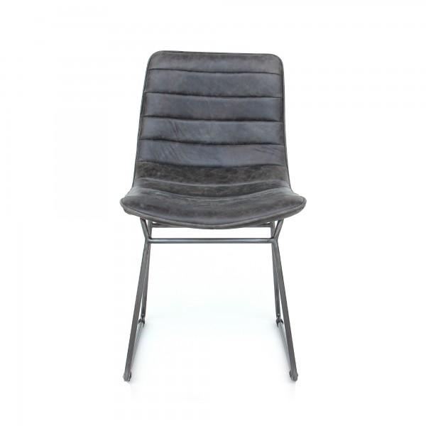 Stuhl 'Vendries', schwarz, T 63 cm, B 45 cm, H 80 cm